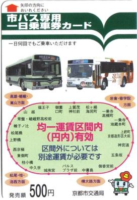 Kyoto Bus Pass